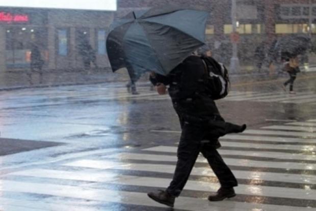 На Киев надвигается ураганный ветер