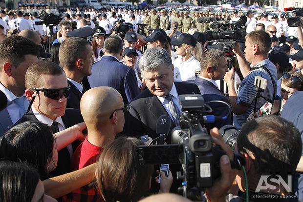 Порошенко признал, что народ в Украине недоволен жизнью