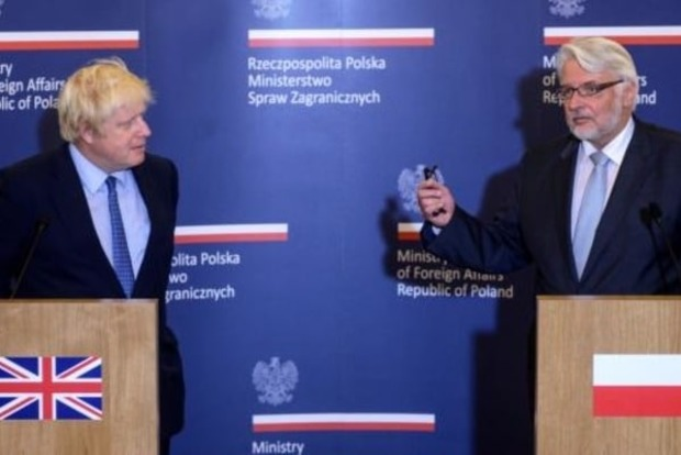 В Киев сегодня приезжают главы МИД Польши и Великобритании