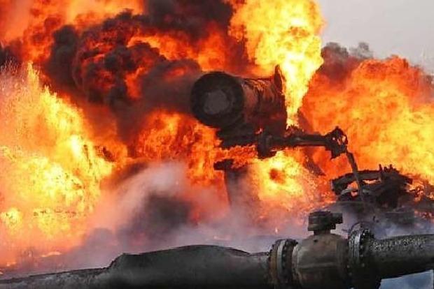 В «ДНР» произошел мощный взрыв на ГРС. Опубликовано видео