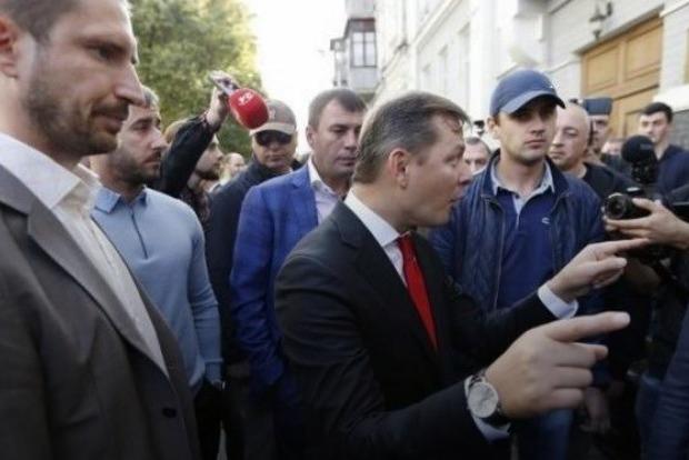 ВКиеве узадния суда произошла потасовка между депутатами Рады