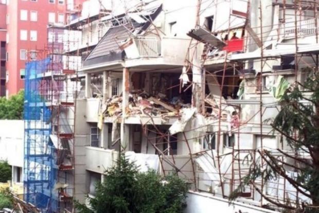 От взрыва газа в Милане погибло три человека
