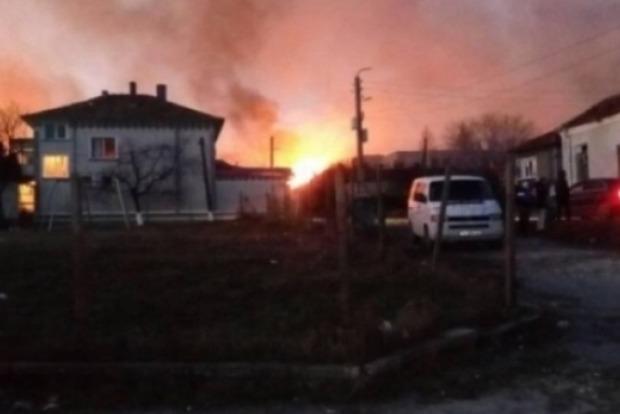 Аварию газового поезда в Болгарии сняли с высоты птичьего полета