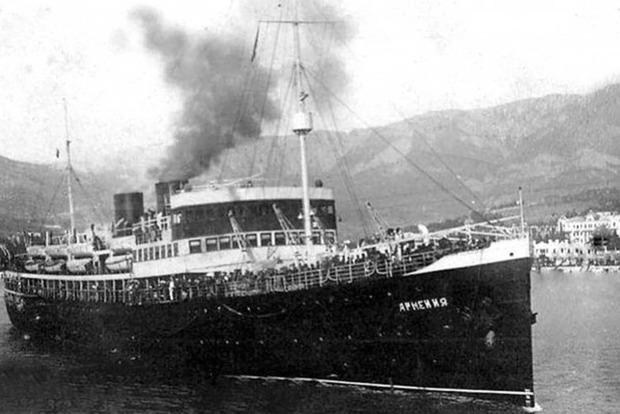 У берегов Крыма нашли теплоход, затонувший вместе с 10 тысячами пассажиров