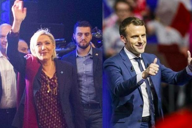 Во Франции зрители поддержали Макрона на теледебатах с Ле Пен