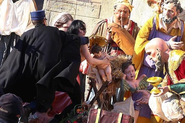 Пара Римский наРождество попросил для Украины мира