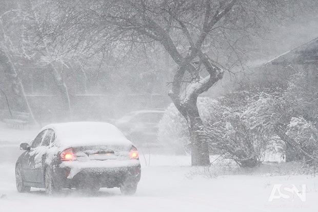 Непогода в Украине: на трассе Киев-Одесса ограничили движение