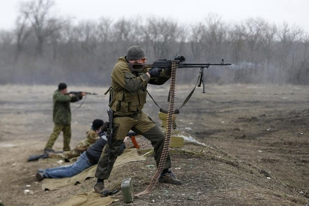За сутки боевики ни разу не обстреляли позиции сил АТО