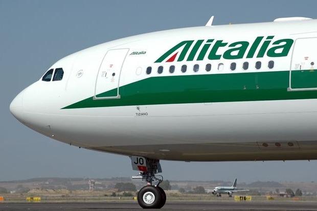 Alitalia возобновит полеты из Рима в Киев
