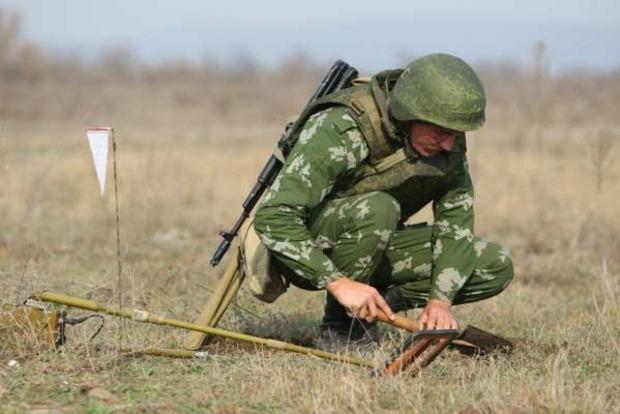 На Донбассе работают 36 групп разминирования
