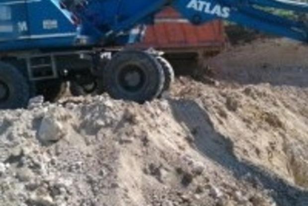 В Тернопольской области прекращена самовольная добыча полезных ископаемых
