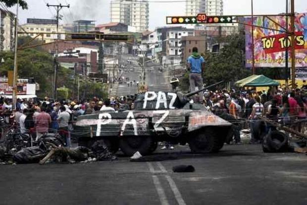 В Венесуэле 250 человек пострадали в ходе акций протеста