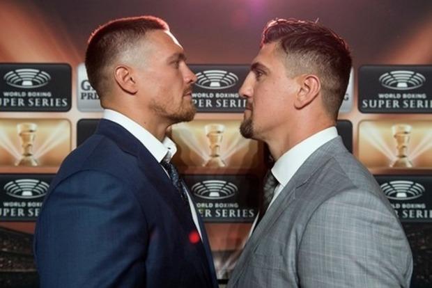 Усик стартует в боксерской суперсерии поединком с Хуком