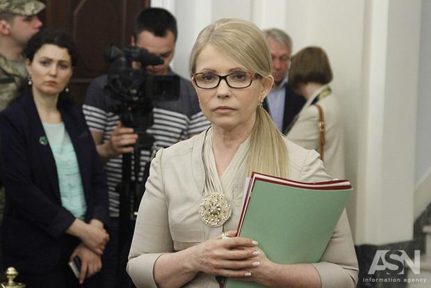 Тимошенко: Запад готовит альтернативный план мира в Украине без Порошенко