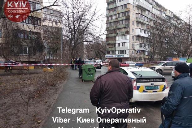 В Киеве произошла стрельба, есть жертвы