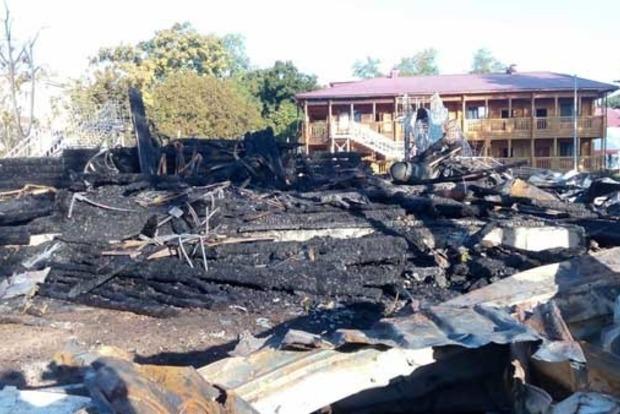 Пожар в Одессе: у директора детского лагеря остановилось сердце
