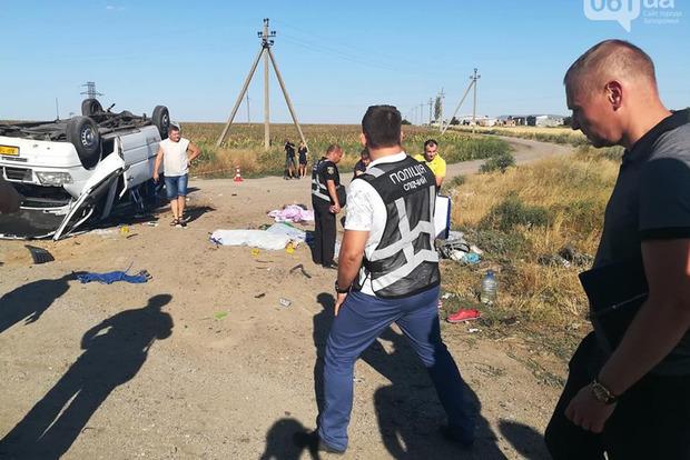 Появилось видео аварии, в которой погибло пятеро детей и взрослый