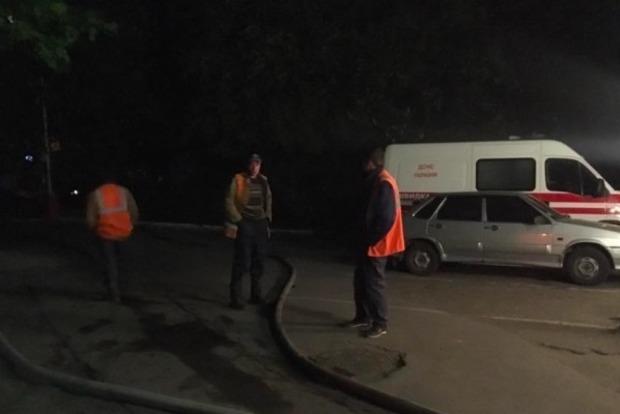 В Лукьяновском СИЗО ночью произошел пожар