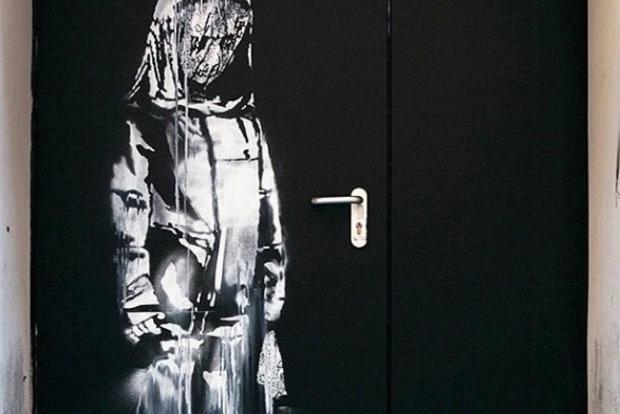 В Париже украдена работа Бэнкси, посвященная жертвам терактов 2015 года