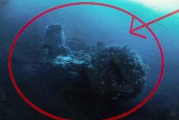 В Бермудском треугольнике найден корабль пришельцев