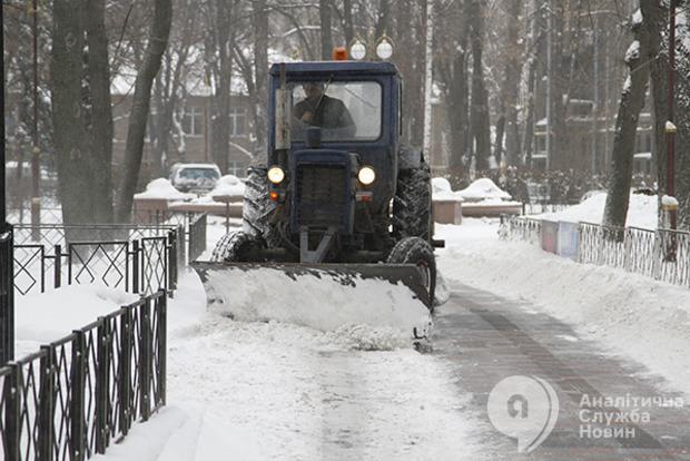Морозы и снегопады движутся на Украину