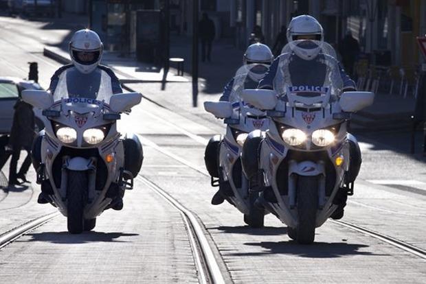 В Париже возле представительства Иордании взорвался мотоцикл