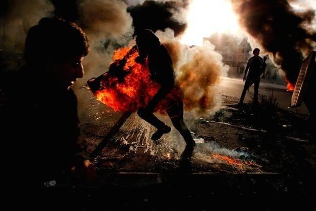 Больше 30 человек пострадали в столкновении арабов и полиции Израиля