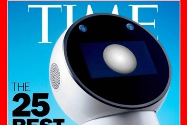 Уникальный львовский робот попал на обложку журнала TIME