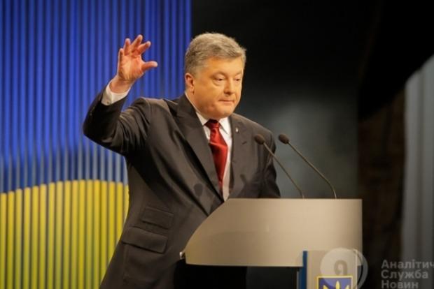 Порошенко хочет увеличить долю украинского языка на телевидении