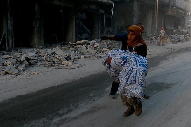 Олланд возложил ответственность за события в Алеппо на союзников Асада