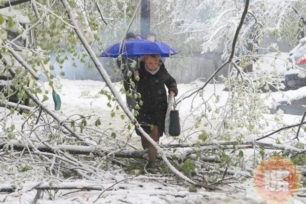 В Украину идет настоящая зима, ждать недолго. Синоптики предупреждают власть столицы