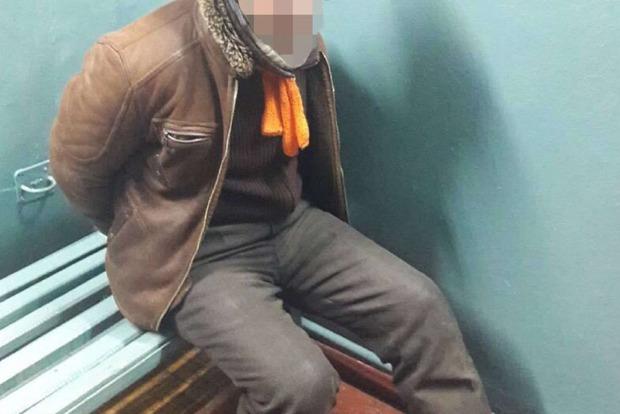 Бездомный избил полицейского в киевском метро