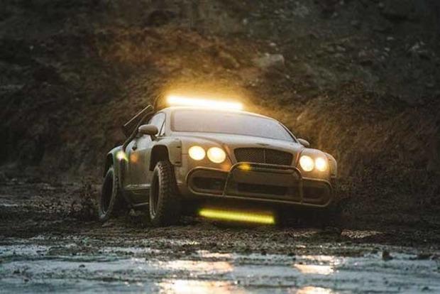 Bentley превратили в постапокалиптический вездеход