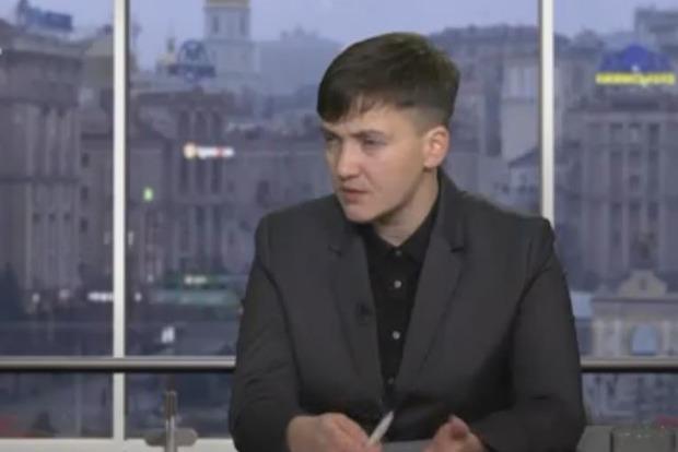 Савченко заявила, что не знакома с кумом Путина Медведчуком
