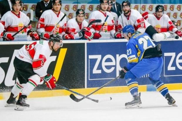 ЧМ по хоккею в Киеве: Украина в первом матче проиграла Венгрии