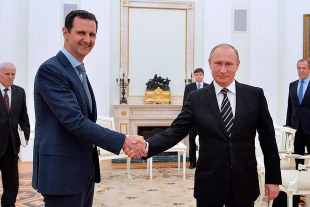 Путін уСирії заявив про виведення військРФ