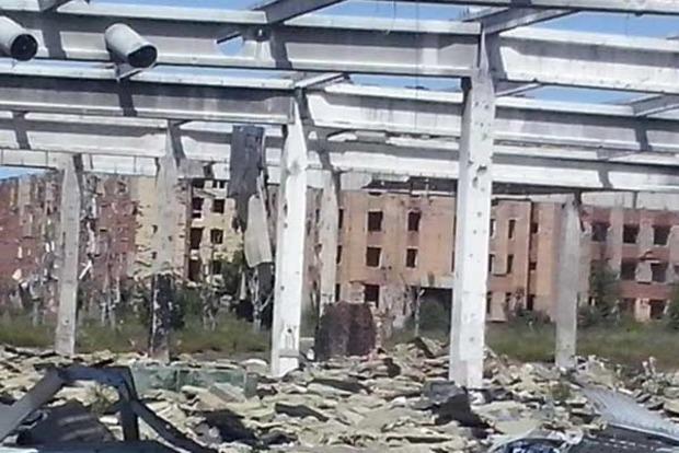 В сети показали, что осталось от гипермаркета «Метро» в Донецке