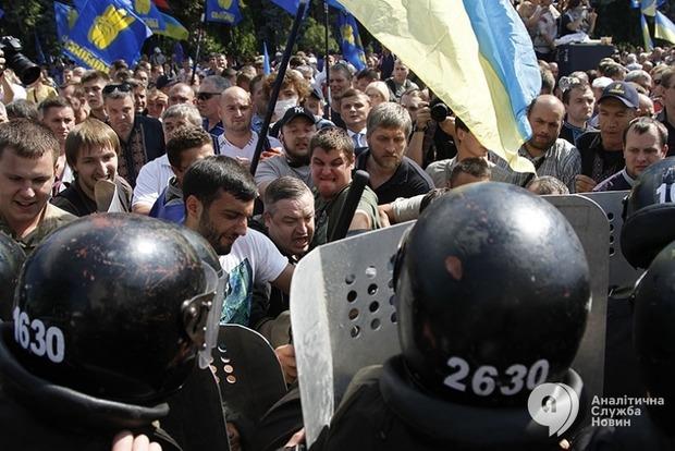 В больницах остаются 113 правоохранителей, пострадавших под зданием Верховной Рады 31 августа