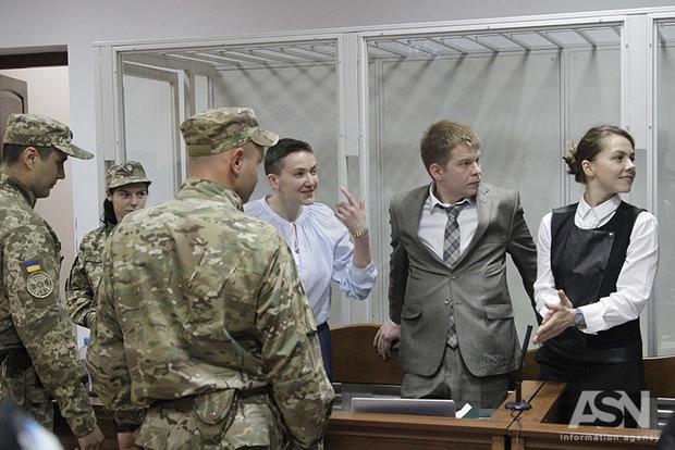 Суд перенес решение вопроса о мере пресечения Надежде Савченко