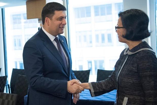 Всемирный банк готов выделить Украине миллиард долларов США