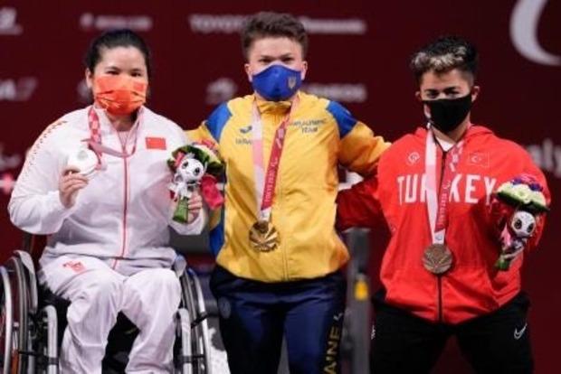 Украинские паралимпийцы поднялись с 9 на 5 место в медальном зачете