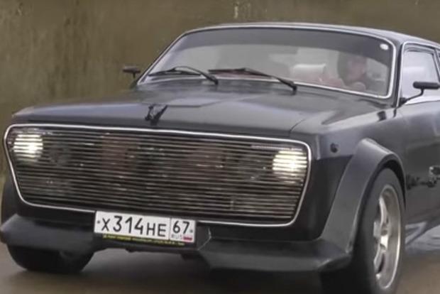 В России соединили дизайн «Волги» с BMW и получили «Мариванну»