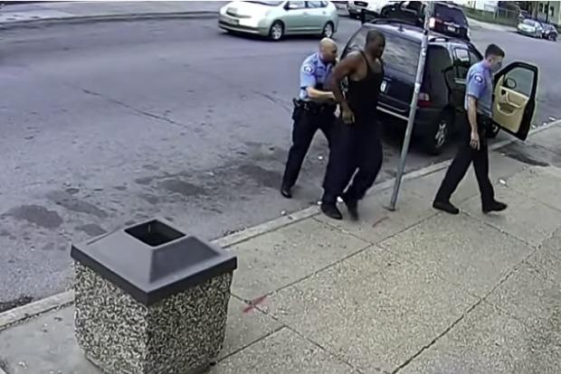 Видео, с которого начались беспорядки в США
