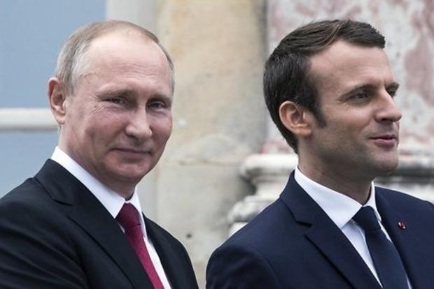 Макрон и Путин обсудили урегулирование в Украине, но не говорили о политзаключенных – Песков