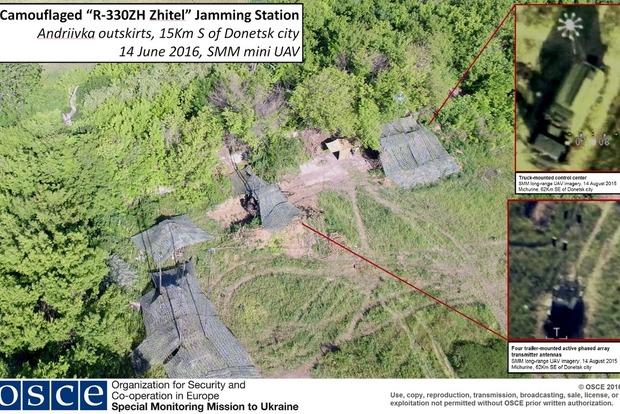 Около Донецка обнаружены российские приборы радиоэлектронной борьбы