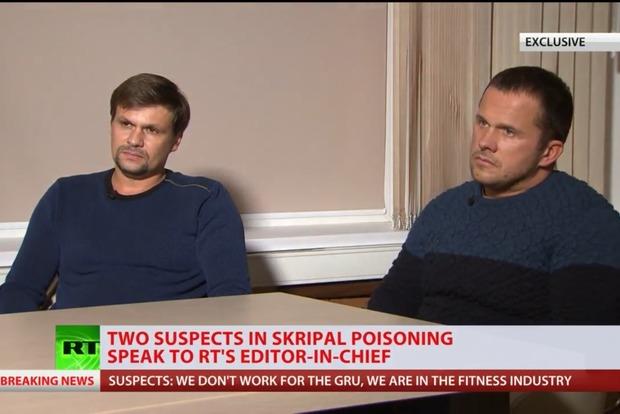 Туристи-кілери: підозрювані у замаху на Скрипалів дали перше інтерв'ю