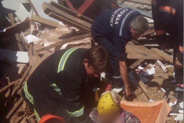 На Николаевщине из-за взрыва газа под завалами оказалась пенсионерка