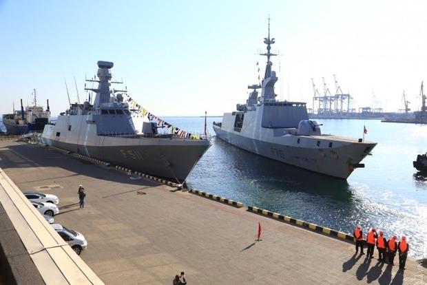 В Одессу зашло еще два фрегата НАТО
