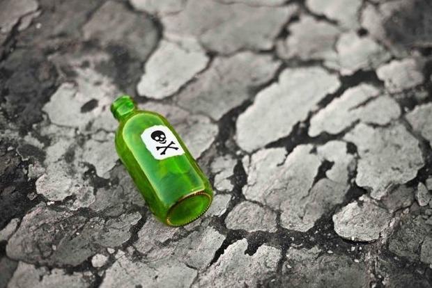 Ємкість зла: Поліція Британії знайшла пляшку з-під «Новачка»