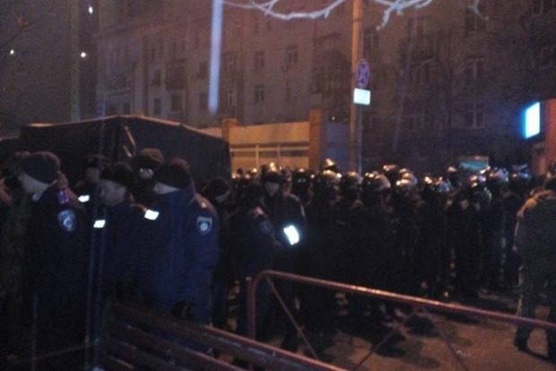 Снос МАФов в Киеве: копы избили предпринимателей